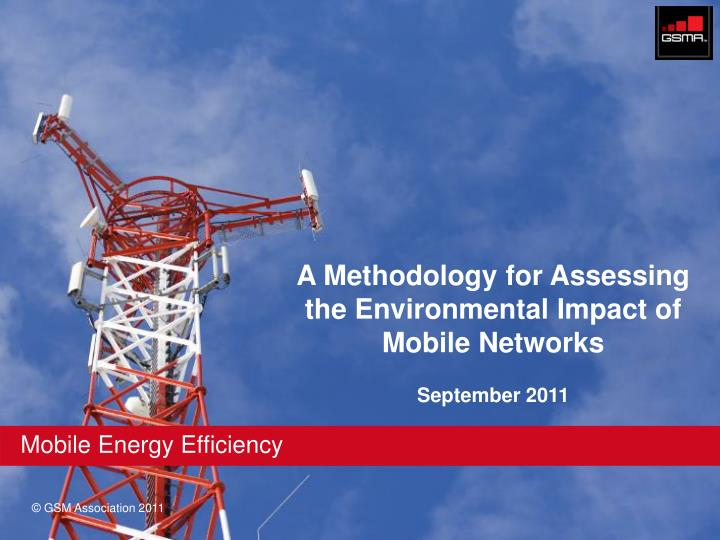 A Methodology for Assessing the Environmental Impact of Mobile Networks