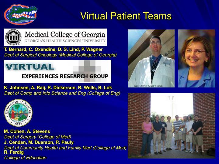 Virtual Patient Teams