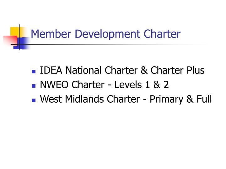 Member Development Charter