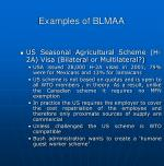 examples of blmaa1
