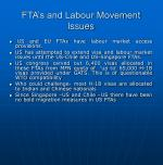 fta s and labour movement issues