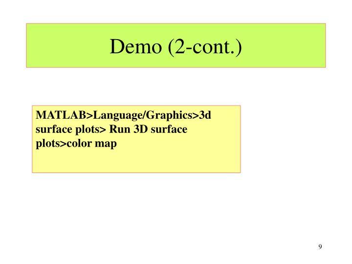Demo (2-cont.)