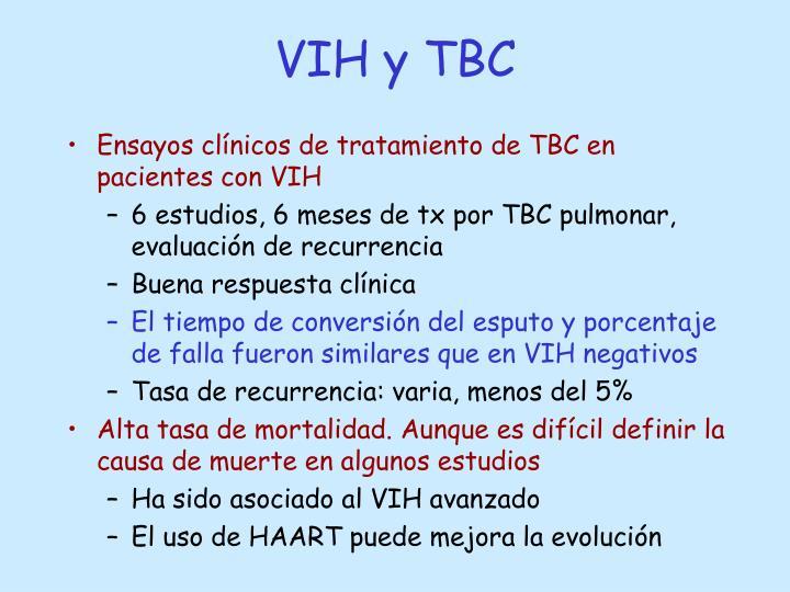 VIH y TBC