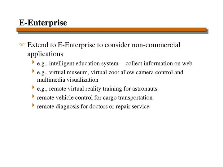 E-Enterprise