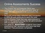 online assessments success