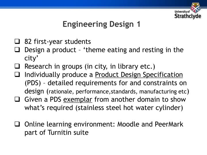 Engineering Design 1