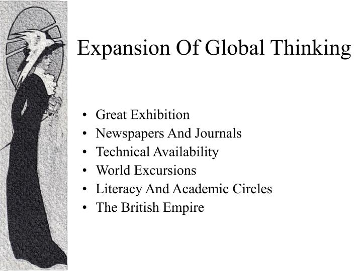 Expansion Of Global Thinking