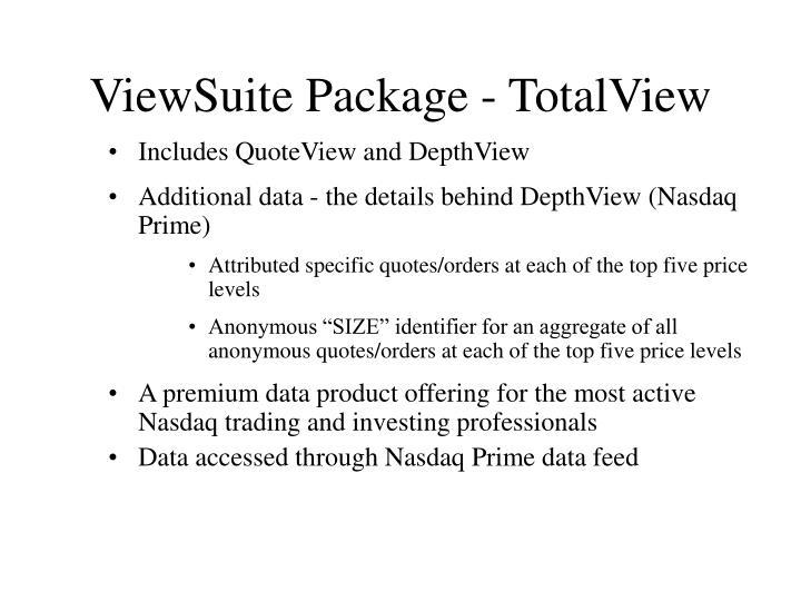 ViewSuite Package - TotalView