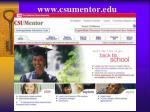 www csumentor edu