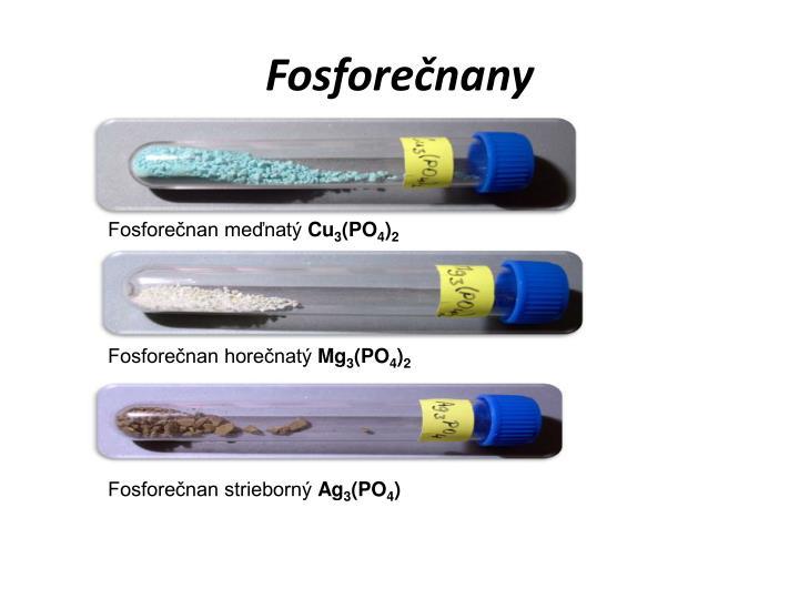 Fosforečnany