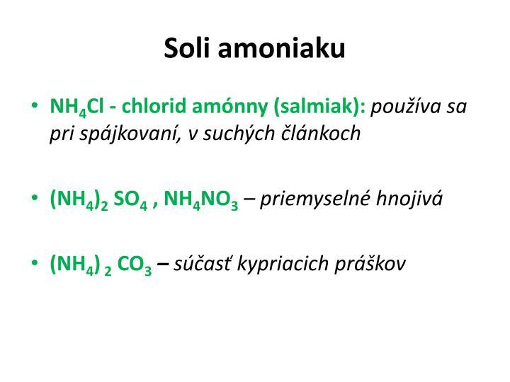 Soli amoniaku