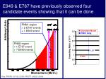 e949 e787 have previously observed four candidate events showing that it can be done