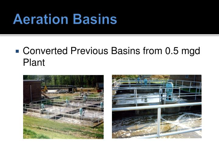 Aeration Basins