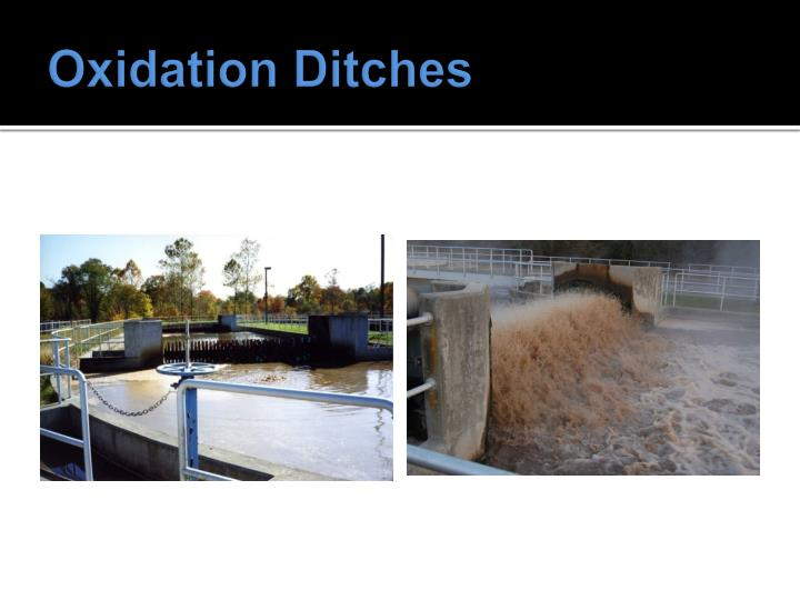 Oxidation Ditches