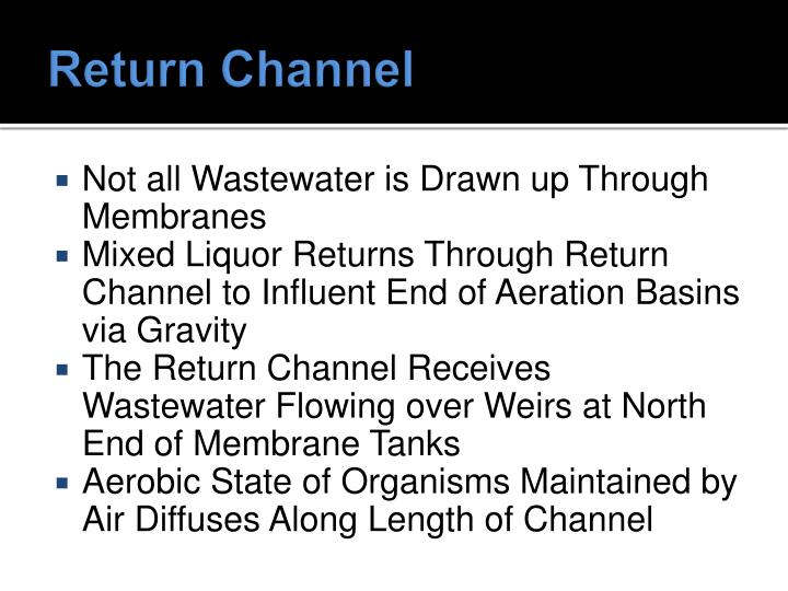 Return Channel
