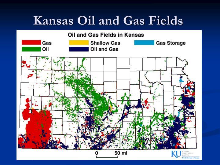 Kansas Oil and Gas Fields
