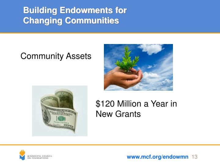Building Endowments for