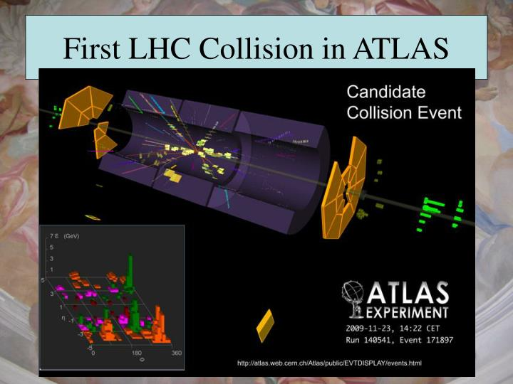 First LHC Collision in ATLAS