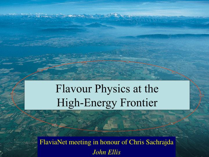Flavour Physics at the