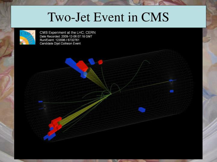 Two-Jet Event in CMS