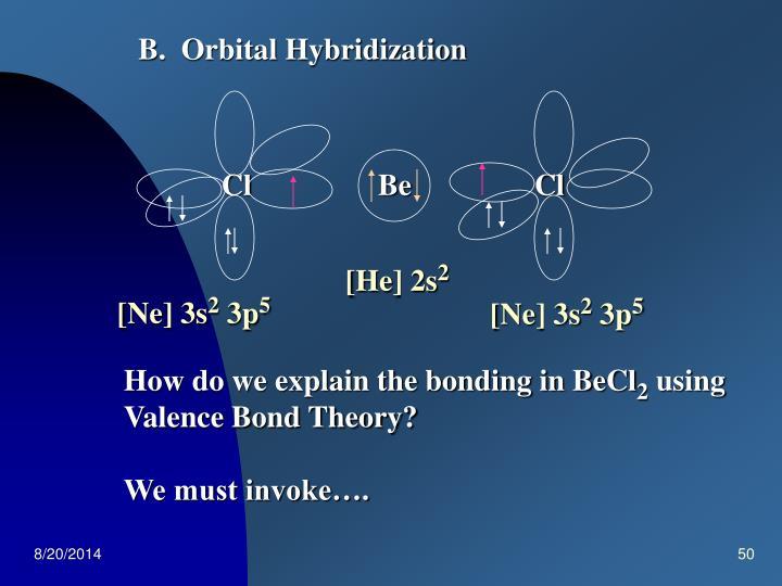 B.  Orbital Hybridization
