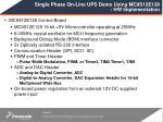 single phase on line ups demo using mc9s12e128 hw implementation9