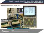 single phase on line ups demo using mc9s12e128 performance measurements1