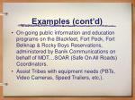 examples cont d1