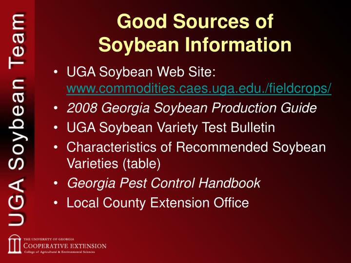 Good Sources of