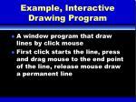 example interactive drawing program