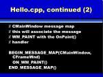 hello cpp continued 2