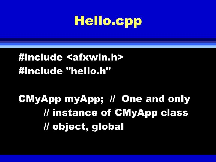 Hello.cpp