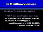 in minidrawview cpp
