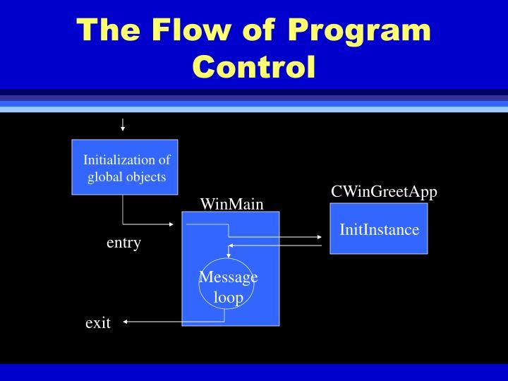 The Flow of Program Control