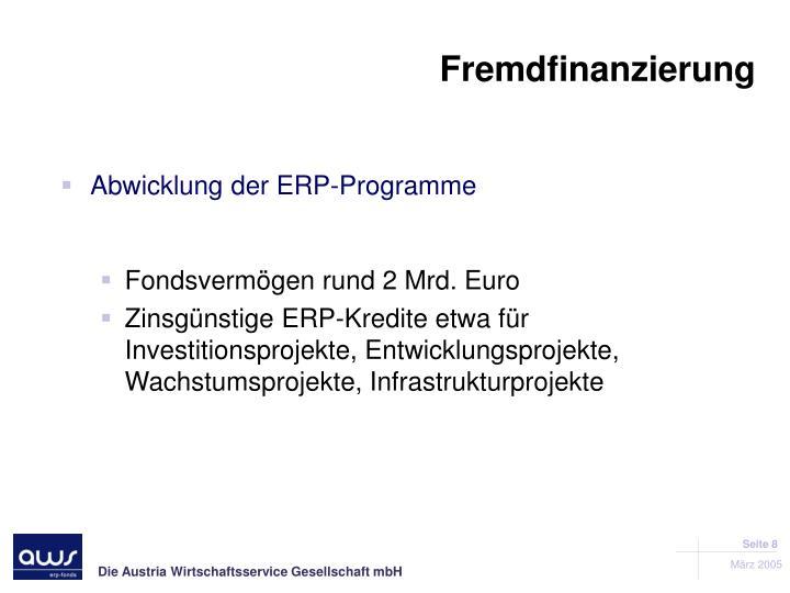 Fremdfinanzierung
