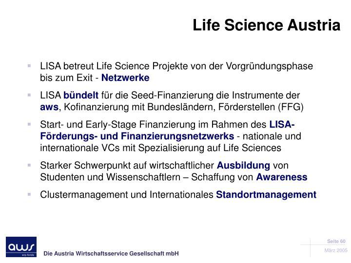 Life Science Austria