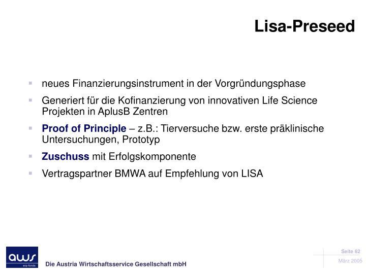 Lisa-Preseed