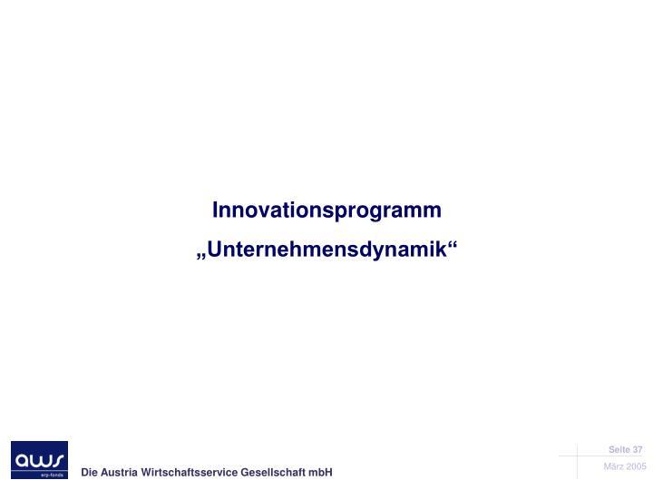 Innovationsprogramm