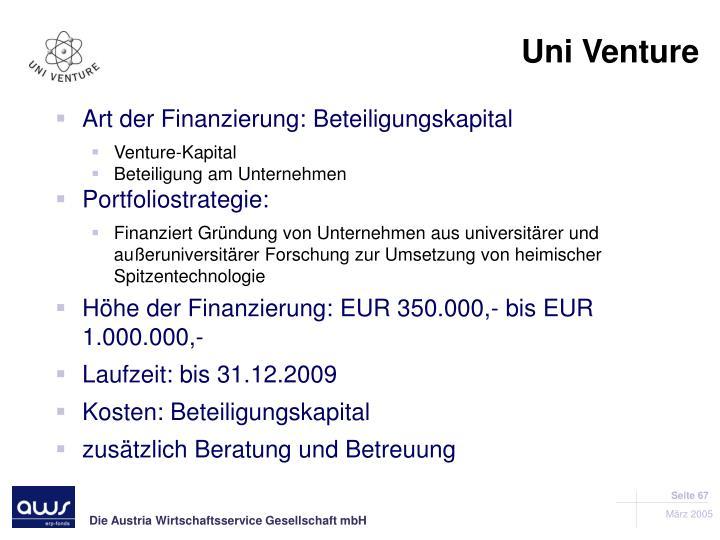 Uni Venture