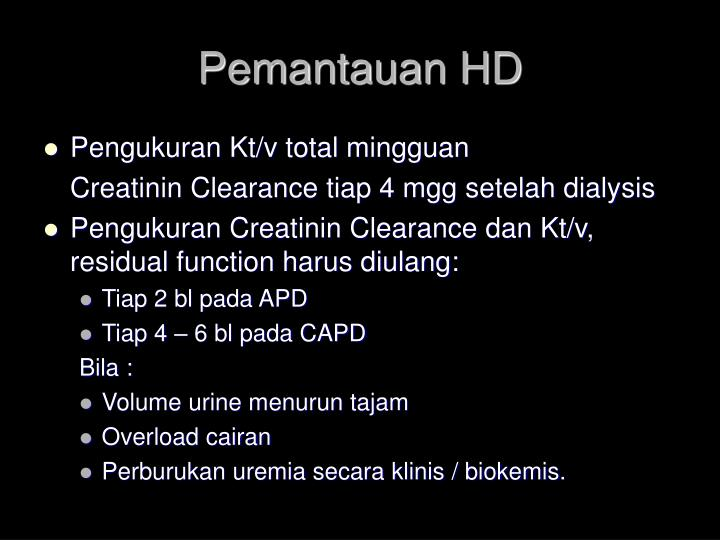 Pemantauan HD