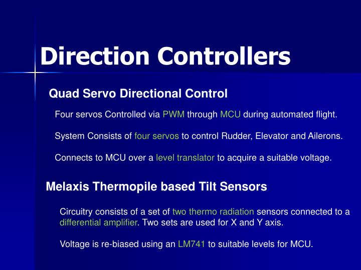 Direction Controllers