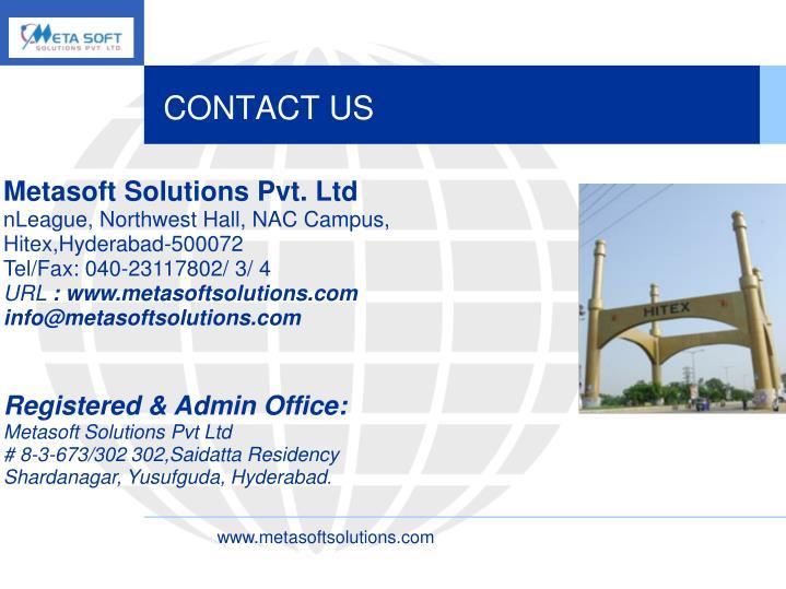 Metasoft Solutions Pvt. Ltd