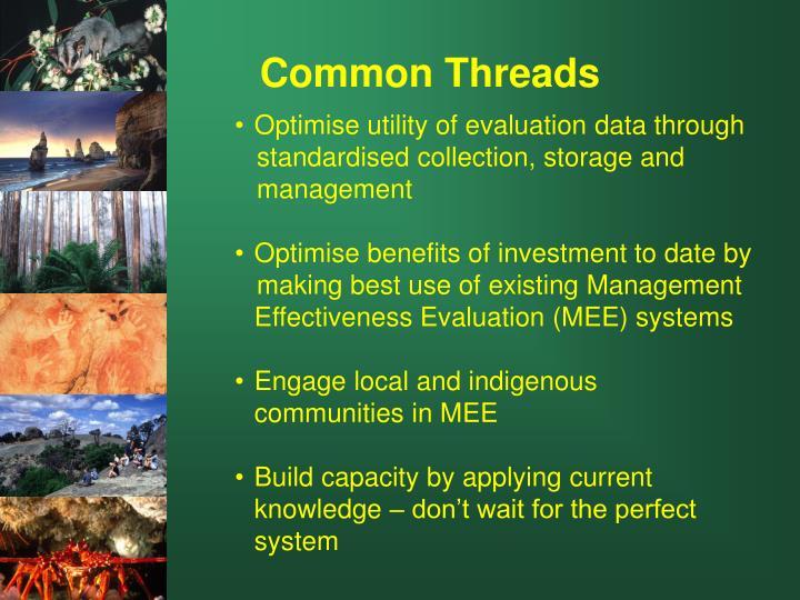 Optimise utility of evaluation data through