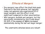 effects of mergers