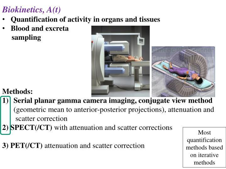 Biokinetics, A(t)