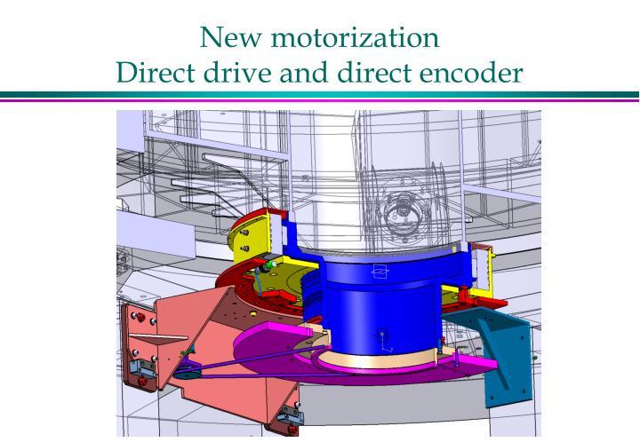New motorization