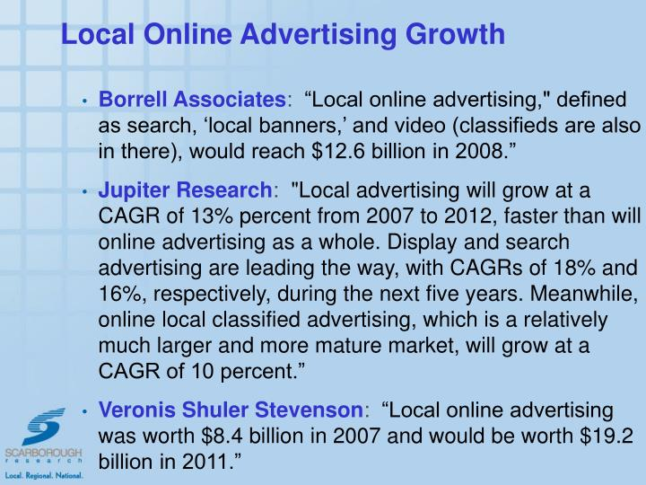 Local Online Advertising Growth
