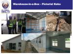 warehouse in a box pictorial keko2