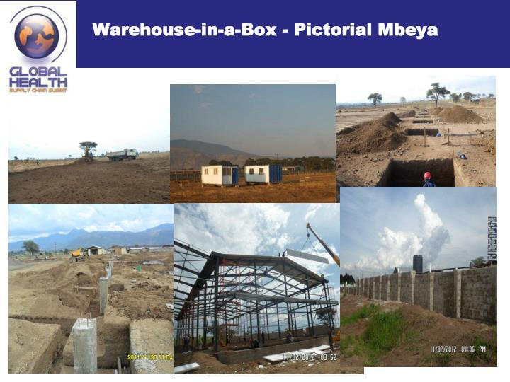 Warehouse-in-a-Box - Pictorial Mbeya