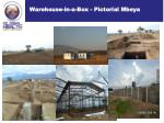 warehouse in a box pictorial mbeya